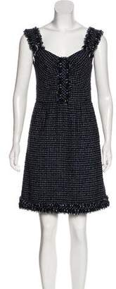Chanel Tweed Mini Dress