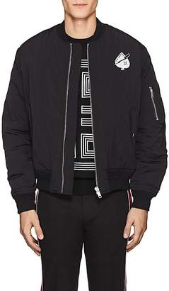 "Givenchy Men's ""Creature"" Tech-Twill Bomber Jacket"