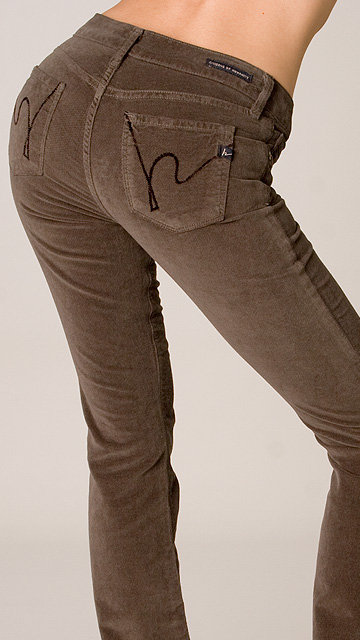 Citizens of Humanity Amber Velour in Brown
