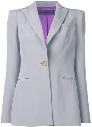 Ungaro Pre-Owned peaked lapels blazer