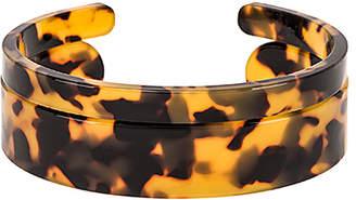 Shashi Emma Lucite Cuff Bracelet Set