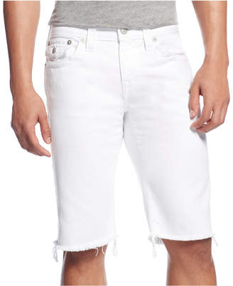 "True Religion Men's Relaxed 13"" Stretch Shorts $149 thestylecure.com"
