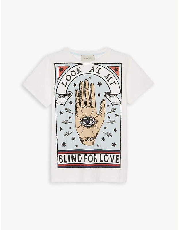 Blind for love cotton T-shirt 6-12 years