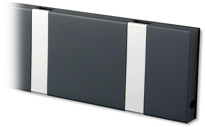 LoCa - Knax 6 Garderobenleiste, Anthrazit / grau