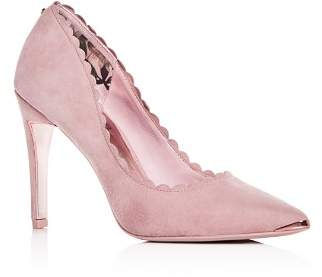 Ted Baker Women's Sloana Scalloped Pointed-Toe Pumps