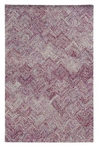 PantonePantone Colorscape Wool Area Rug - Purple (5'x8')