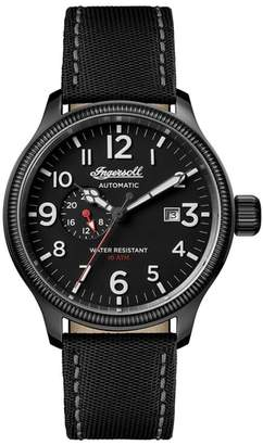 Ingersoll WATCHES Apsley Automatic Nylon Strap Watch, 45mm