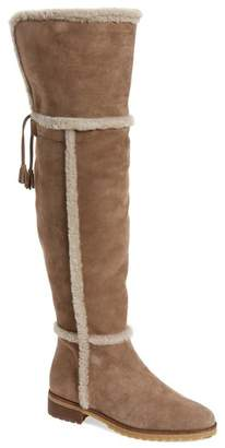 9d17dfb5866 Frye Tamara Genuine Shearling Lined Over-the-Knee Boot