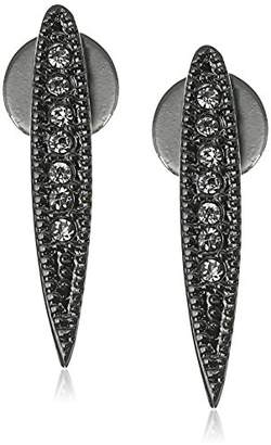 "ABS by Allen Schwartz Black Magic"" Spike Post Stud Earrings"