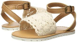 Baby Deer First Steps Crochet Sandal Girls Shoes
