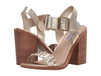 48f67fa1f8a Steve Madden Stacked Heel Women s Sandals - ShopStyle