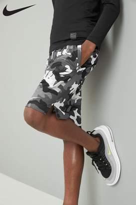 Nike Boys Camo DryFIT Shorts - Black