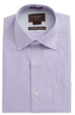 Black & Brown Black Brown Check Cotton Dress Shirt
