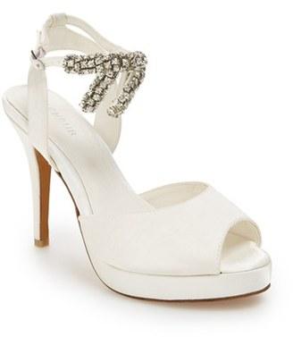 Women's Menbur 'Blanca' Ankle Strap Platform Pump $201.95 thestylecure.com