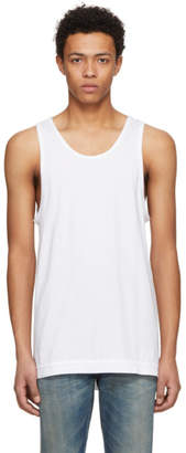 John Elliott White Mercer Tank Top