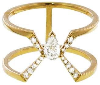 Raphaele Canot Diamond Deco Ring - Yellow Gold