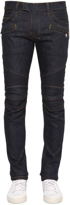 15cm Brut Biker Stretch Denim Jeans $635 thestylecure.com