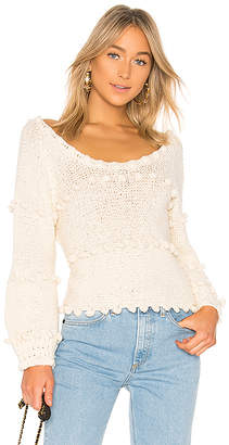Apiece Apart Hyacinth Pom Pom Top