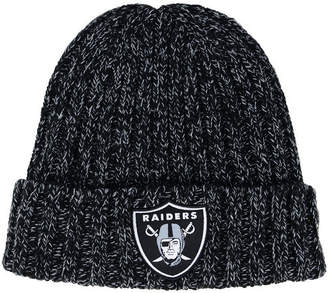 New Era Women Oakland Raiders On Field Knit Hat