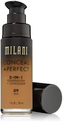 Milani Cosmetics (6 Pack Conceal + Perfect 2-In-1 Foundation + Concealer - Tan
