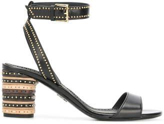 Ermanno Scervino studded heel sandals