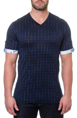FRAMe WORK Maceoo Short Sleeve V-Neck Framework T-Shirt