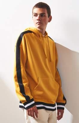 PacSun Kopan Stripe Oversized Pullover Hoodie