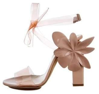 DELPOZO PVC Floral Sandals