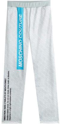 Moschino Printed Sweatpants