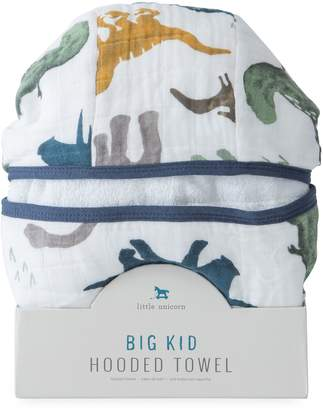 Little Unicorn Kid's Printed Cotton Hooded Bath Towel