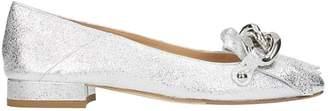 The Seller Fringe Silver Loafers
