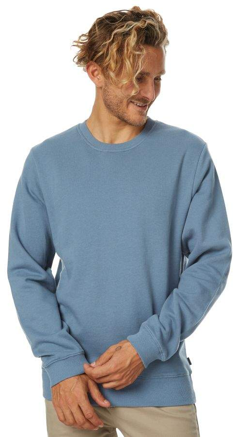 Swell Pigment Mens Crew Blue