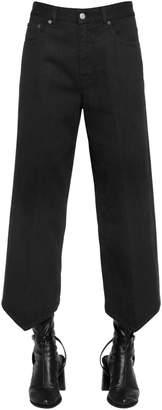 MM6 MAISON MARGIELA Triangle Hem Cotton Denim Jeans