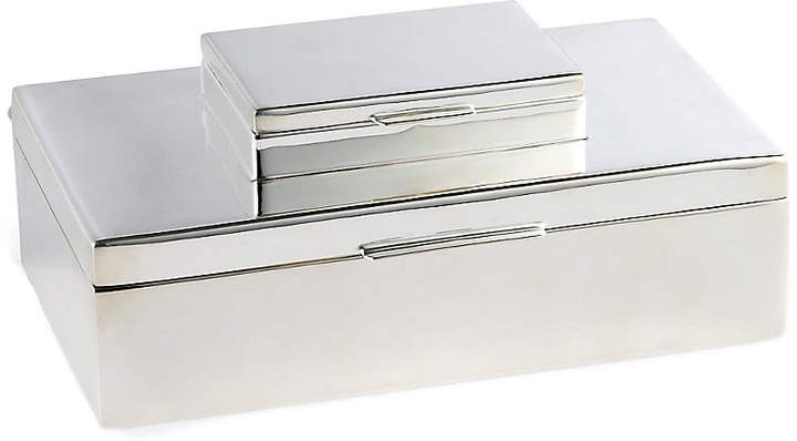 Beckbury Stacked Box - Silver