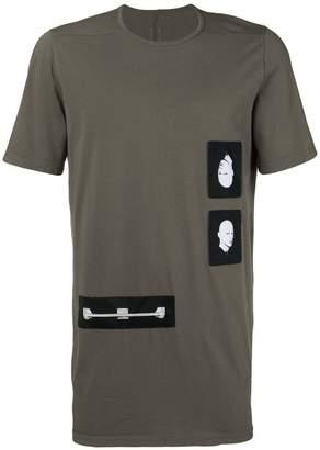 Rick Owens loose printed T-shirt