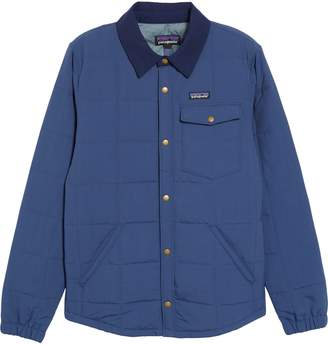 Patagonia Wind & Water Resistant Quilted Shirt Jacket