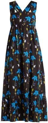 Mila Louise BORGO DE NOR floral-print cotton dress