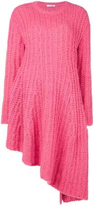 Valentino asymmetric long knitted dress