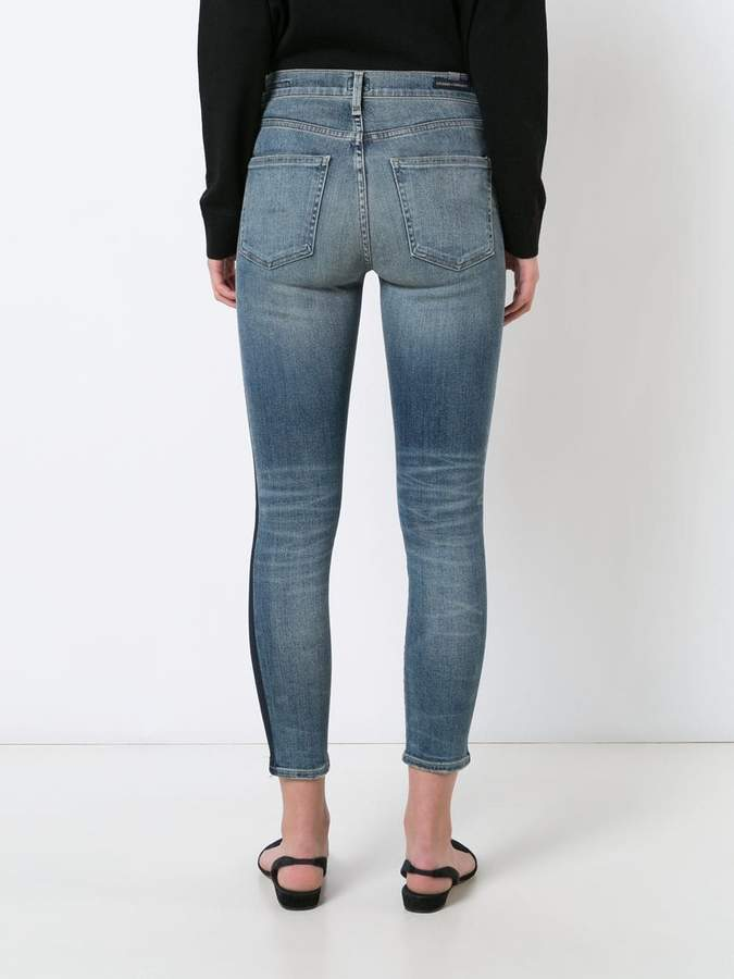 Citizens of Humanity jeans with vertical stripes
