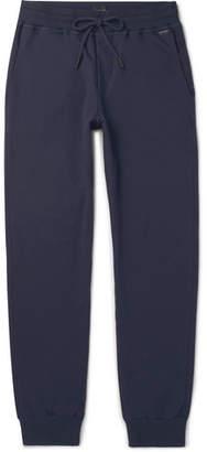 Hanro Slim-Fit Tapered Stretch-Cotton Jersey Sweatpants