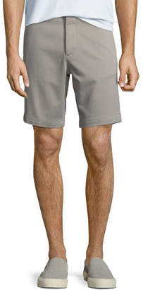 DL1961 DL 1961 Men's Jake French Terry Shorts, Light Grey