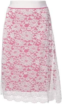 Paco Rabanne lace detail skirt