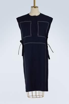 Ports 1961 Sleeveless wool dress