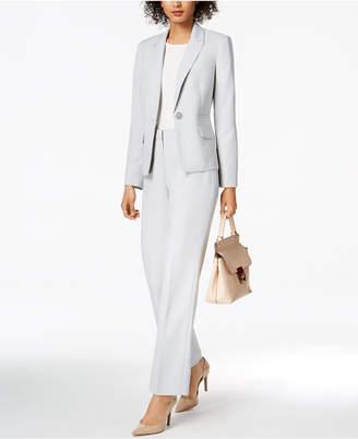 Le Suit Glazed Melange Pantsuit