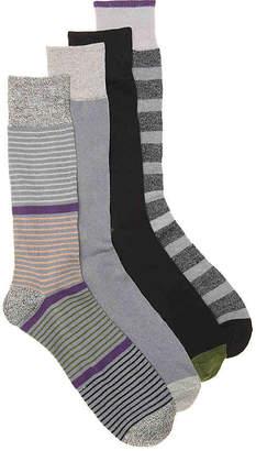 Lucky Brand Thin Stripe Crew Socks - Men's