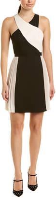 BCBGMAXAZRIA Crisscross A-Line Dress