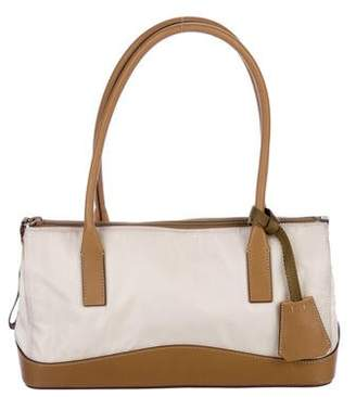 Prada Tessuto & Leather Handle Bag