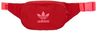adidas Red Adicolor Dual Function Crossbody and Waist Bag