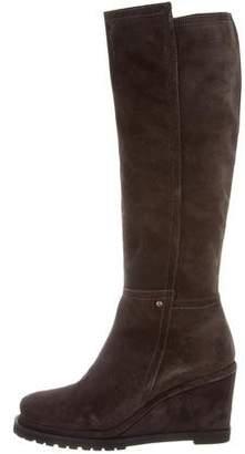 Chuckies New York Knee-High Wedge Boots w/ Tags