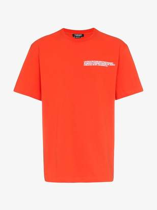 Calvin Klein logo address t-shirt